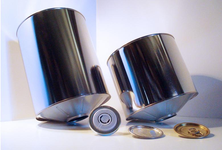 Envasos metàl·lics cafè